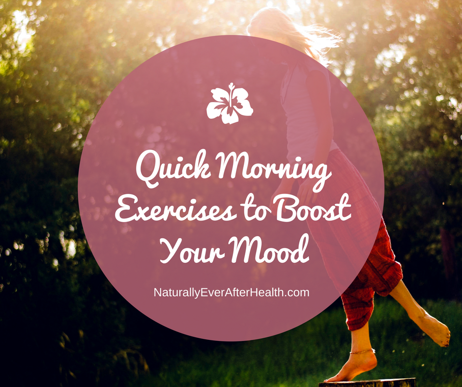 quick morning exercises to boost your mood