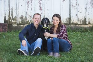 couple and dog about naturally every after