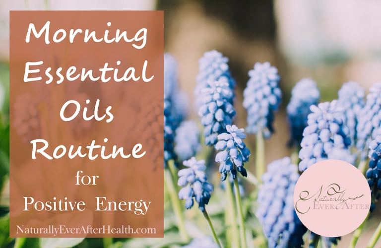Want awesome, natural energy in the morning? Try these essential oil blends!