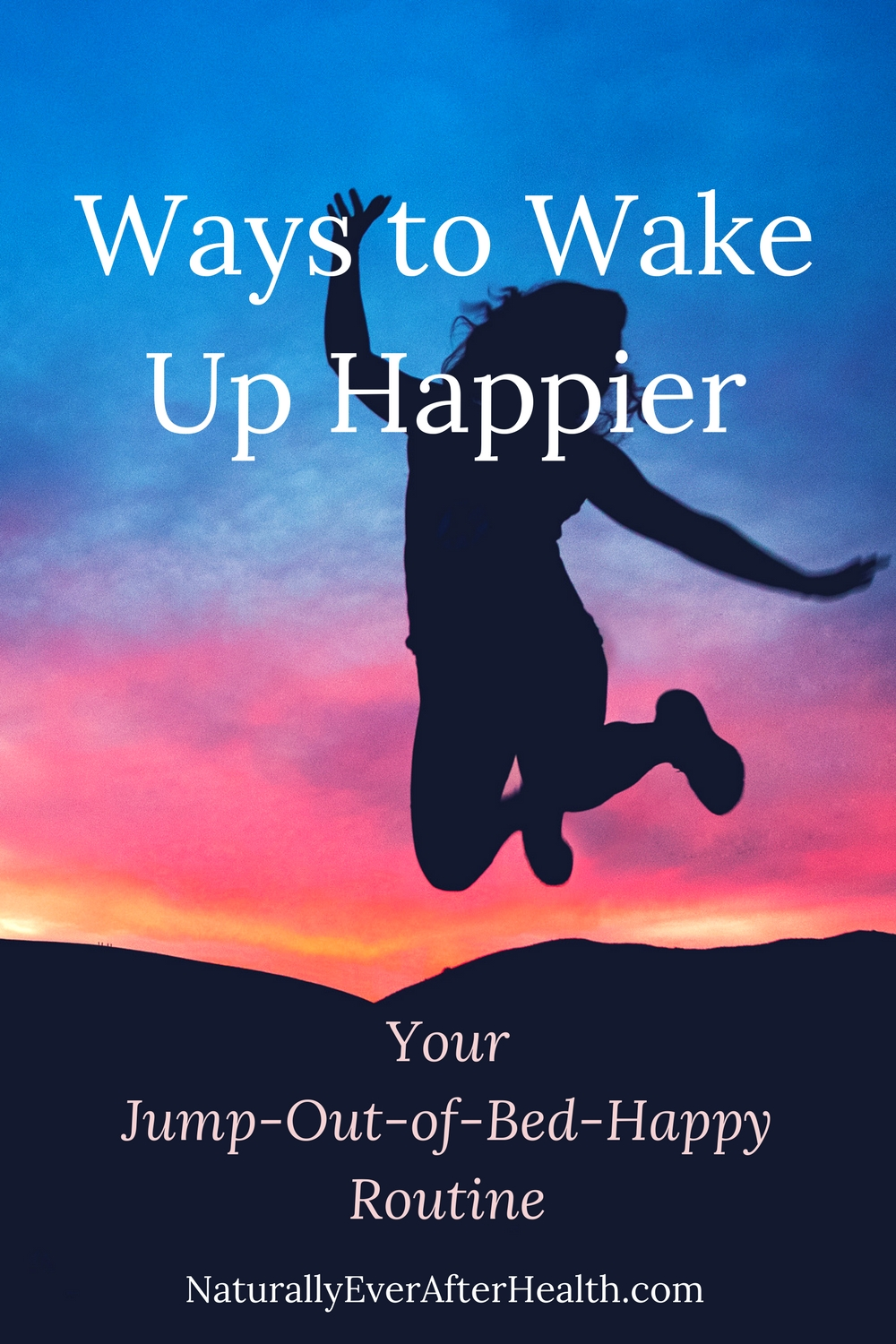 Does anxiety or depression keep you stuck in bed? Here are a few ways to wake up happier!