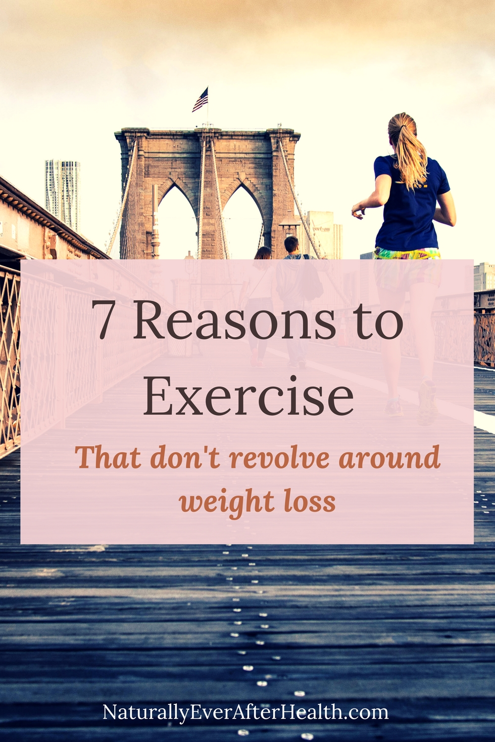 Weight loss, skinny jeans - physique isn't the only benefit of working out. There are plenty of reasons to exercise! Happiness, stress relief, confidence and more!