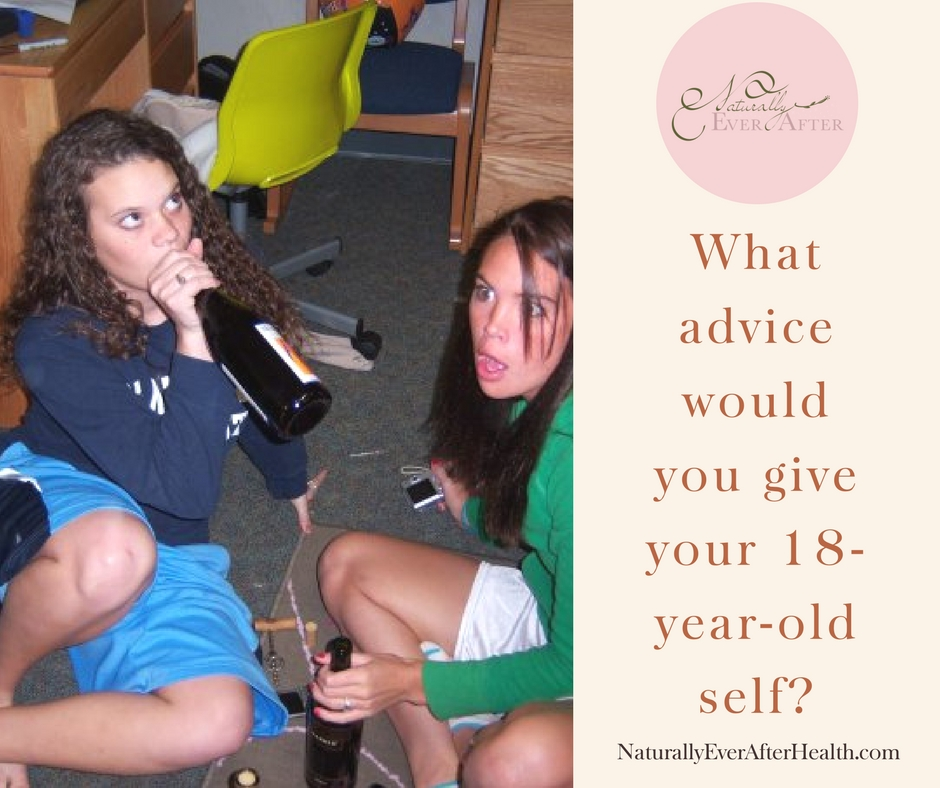 What advice would you give your 18-year-old self? Free giveaway!