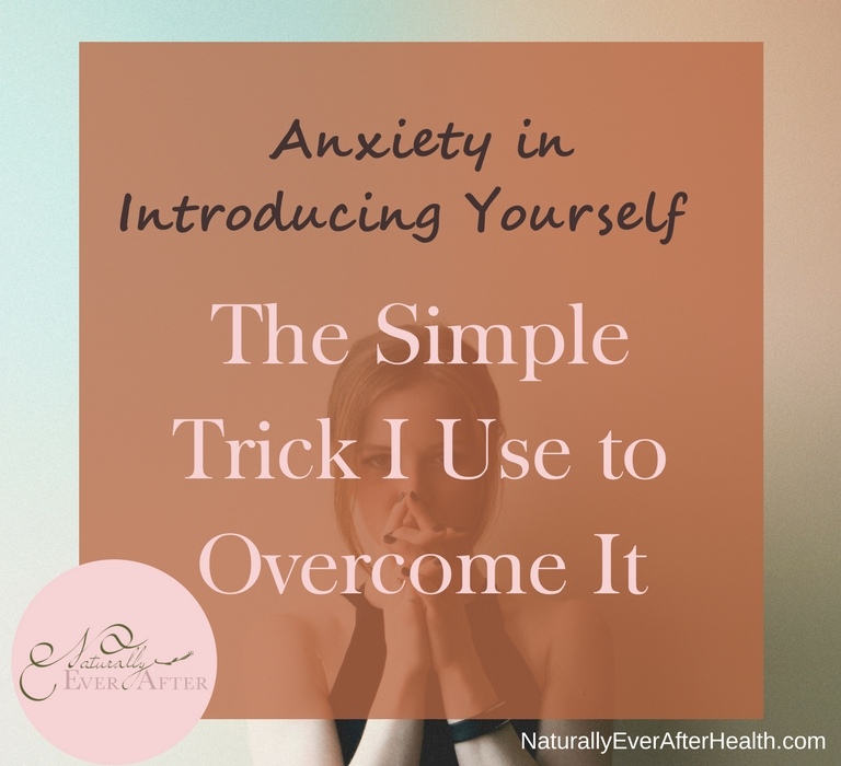 Do you have anxiety when it's your turn to speak up? Try this simple trick