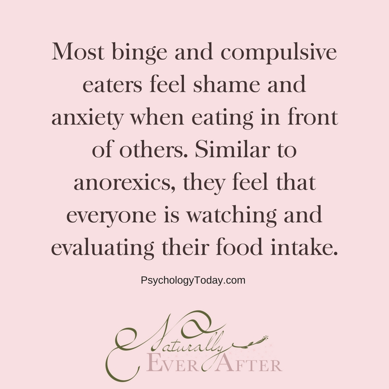 Shame and guilt around Binge Eating Disorder