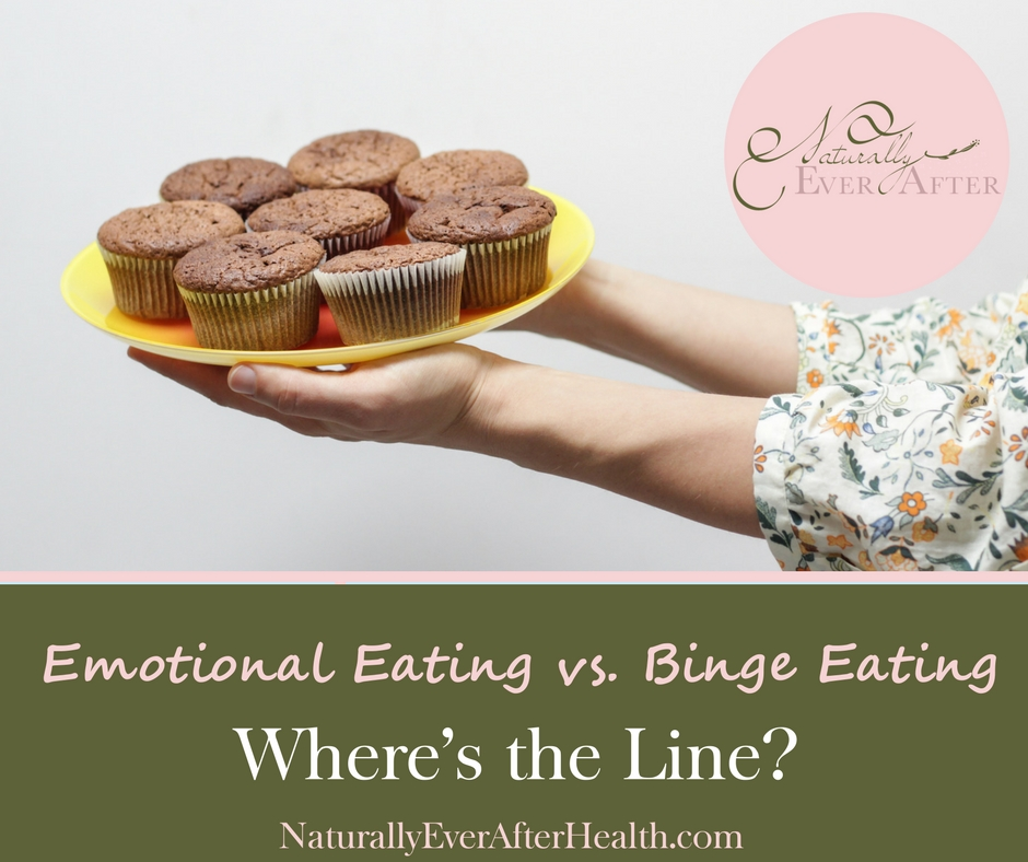 Emotional Eating vs. Binge eating - where's the line?
