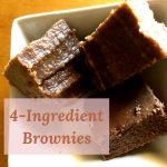 Made from clean, unprocessed foods, these 4-ingredient brownies won't leave you feeling deprived. Check out the recipe!