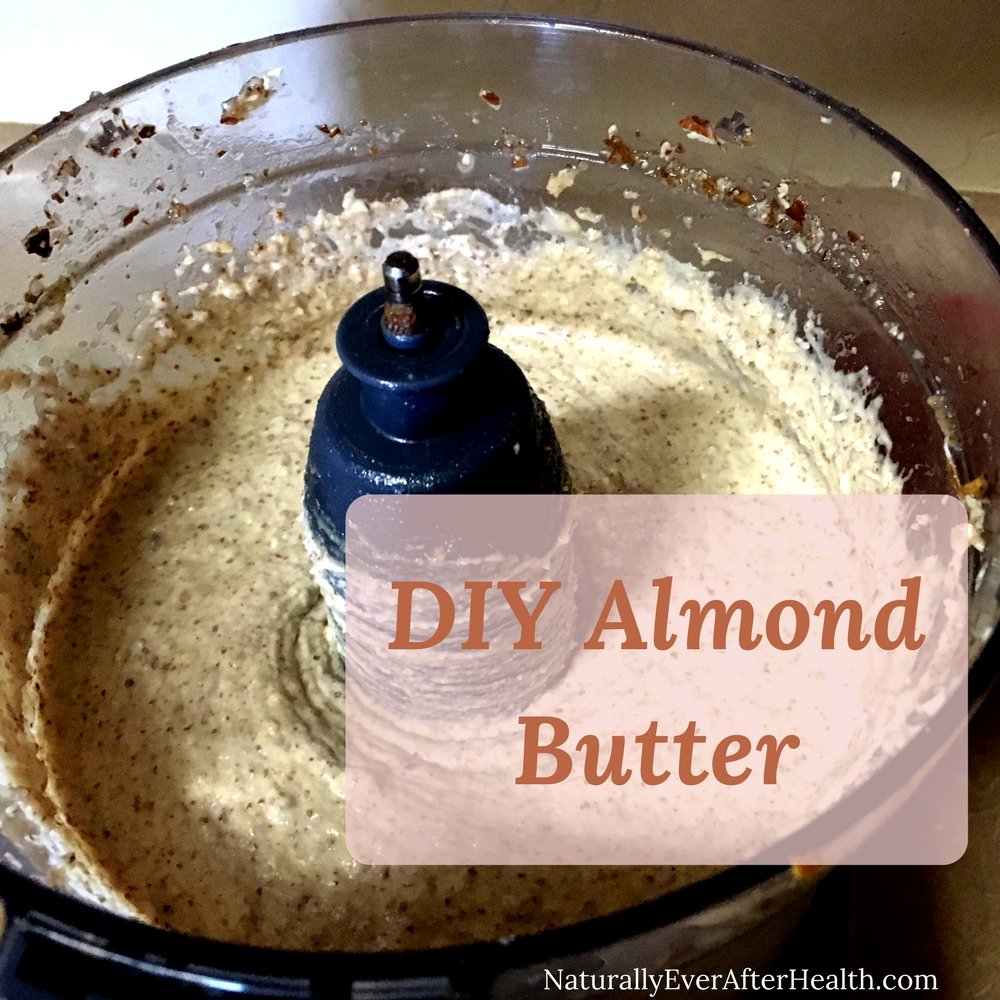 DIY almond butter? Yes, please! Check out the recipe here, and use your own to make healthy, satisfying brownies!
