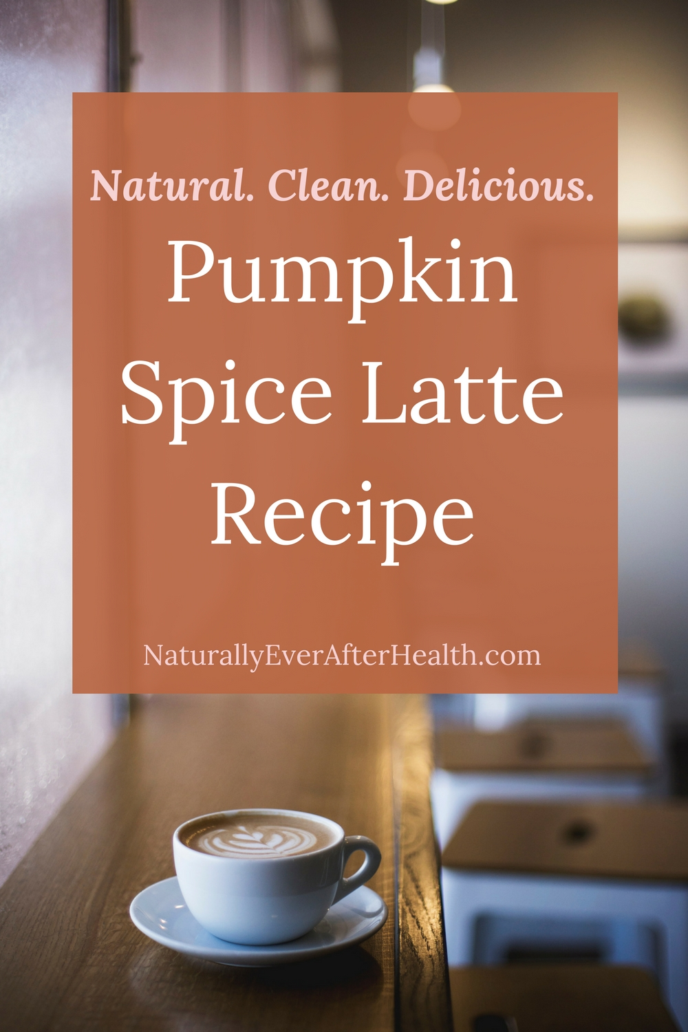 Want the classic fall drink without artificial ingredients? Check out this natural pumpkin spice latte recipe!
