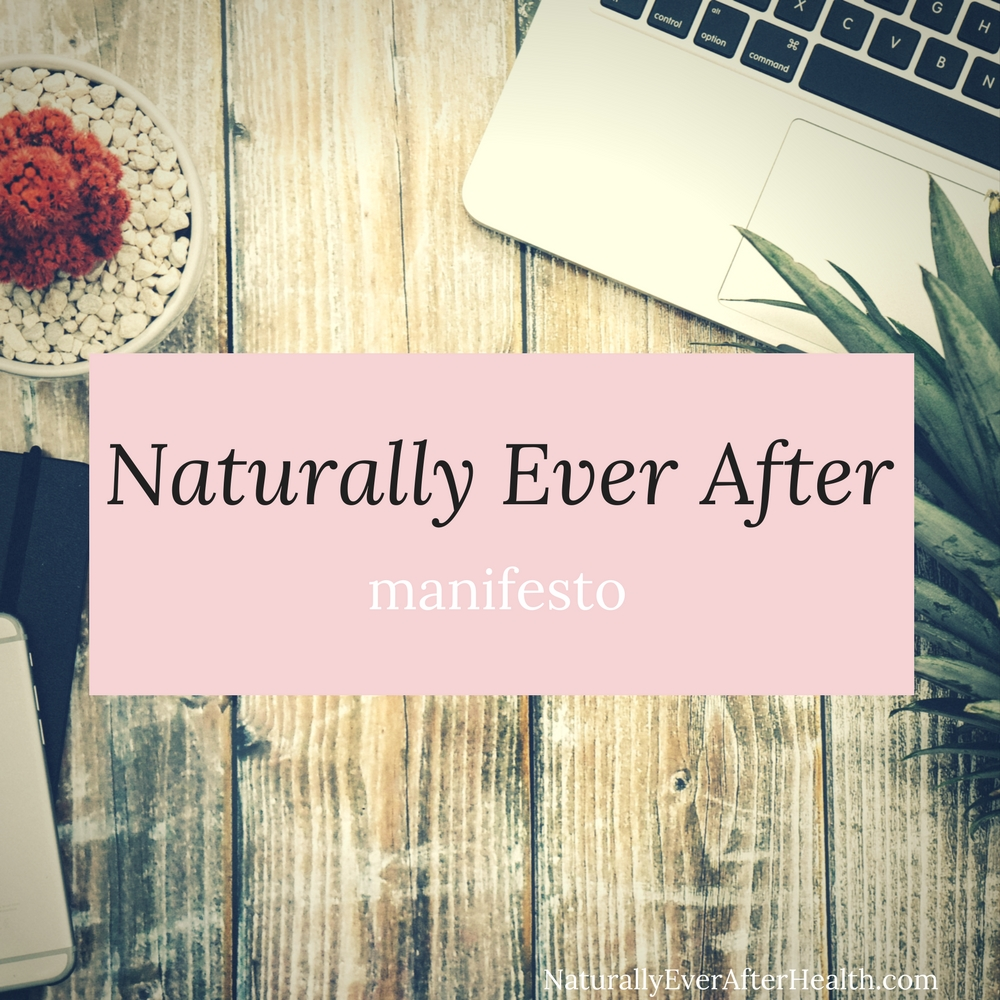 In the Naturally Ever After manifesto, I share my mission for the blog. Learn how I plan to help you love food, love nature and, most importantly, love you.