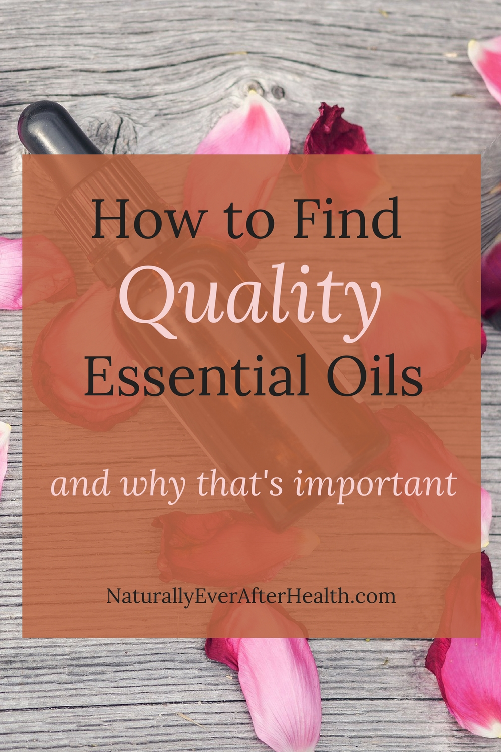 When it comes to the products you use on your body, quality matters. Learn how to find quality essential oils and why quality matters.